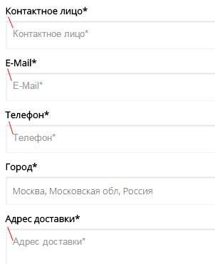 Дублирование текстов в форме