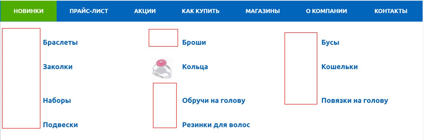 Изображения категорий товаров
