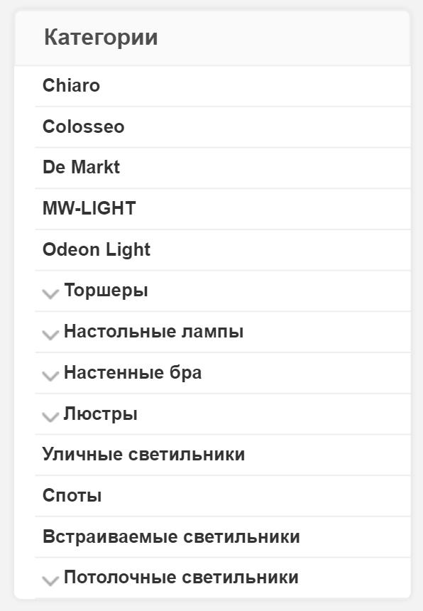 Юзабилити навигационного меню