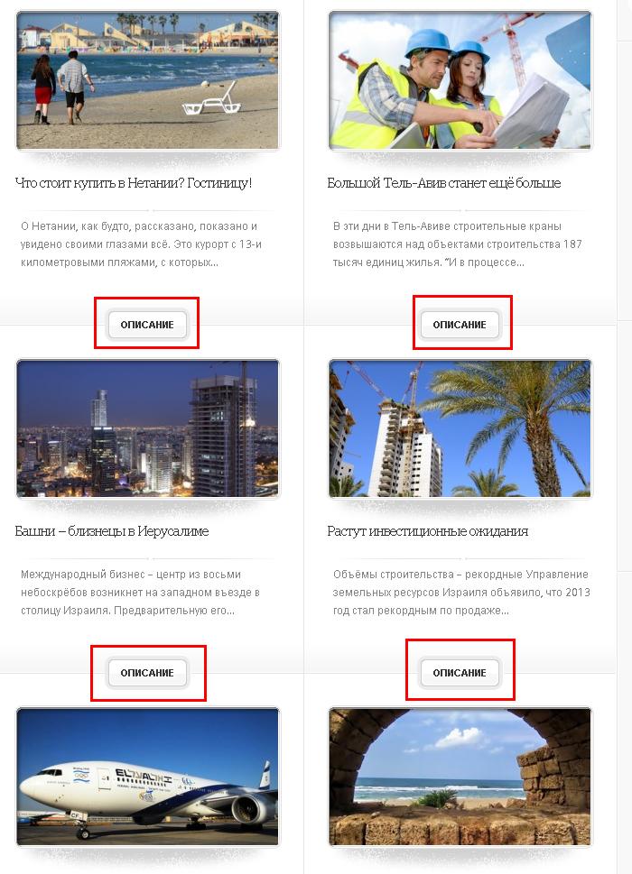Визуальный приоритет элементов сайта
