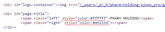CSS стили внутри HTML-кода
